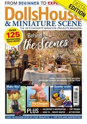 Dolls House and Miniature Scene Magazine Cover