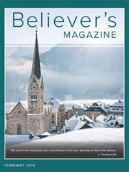 Believer's Magazine Magazine Cover