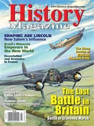 History Magazine Magazine Cover