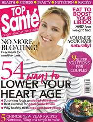 Top Sante Magazine Cover