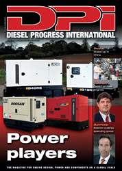 Diesel Progress International Magazine Cover