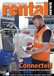 International Rental News Magazine Cover