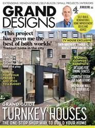 Grand Designs Magazine Cover
