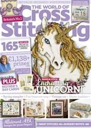 The World of Cross Stitching Magazine Cover