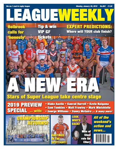 League Weekly Preview
