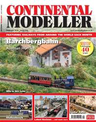 Continental Modeller Magazine Cover
