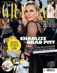 Grazia Magazine Cover
