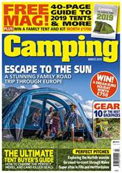 Camping Magazine Cover