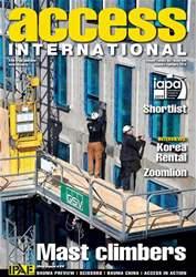 Access International Magazine Cover