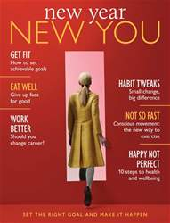 New Year New You Magazine Cover