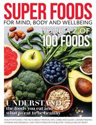 Super Foods Magazine Cover