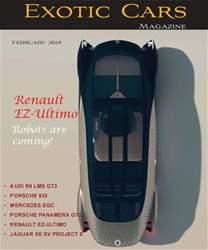 Exotic Cars Magazine Magazine Cover