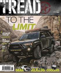 Tread Magazine Cover