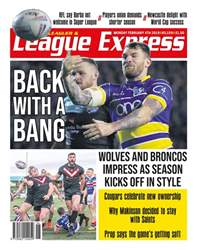 League Express Magazine Cover