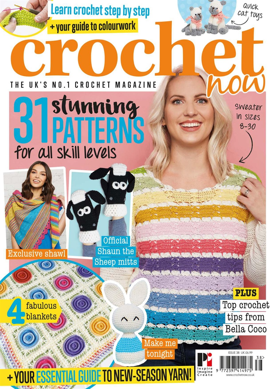 Crochet Now Magazine Issue 38 Subscriptions Pocketmags