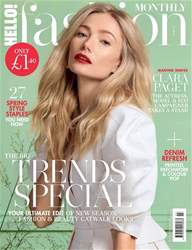 Hello! Fashion Monthly Magazine Cover