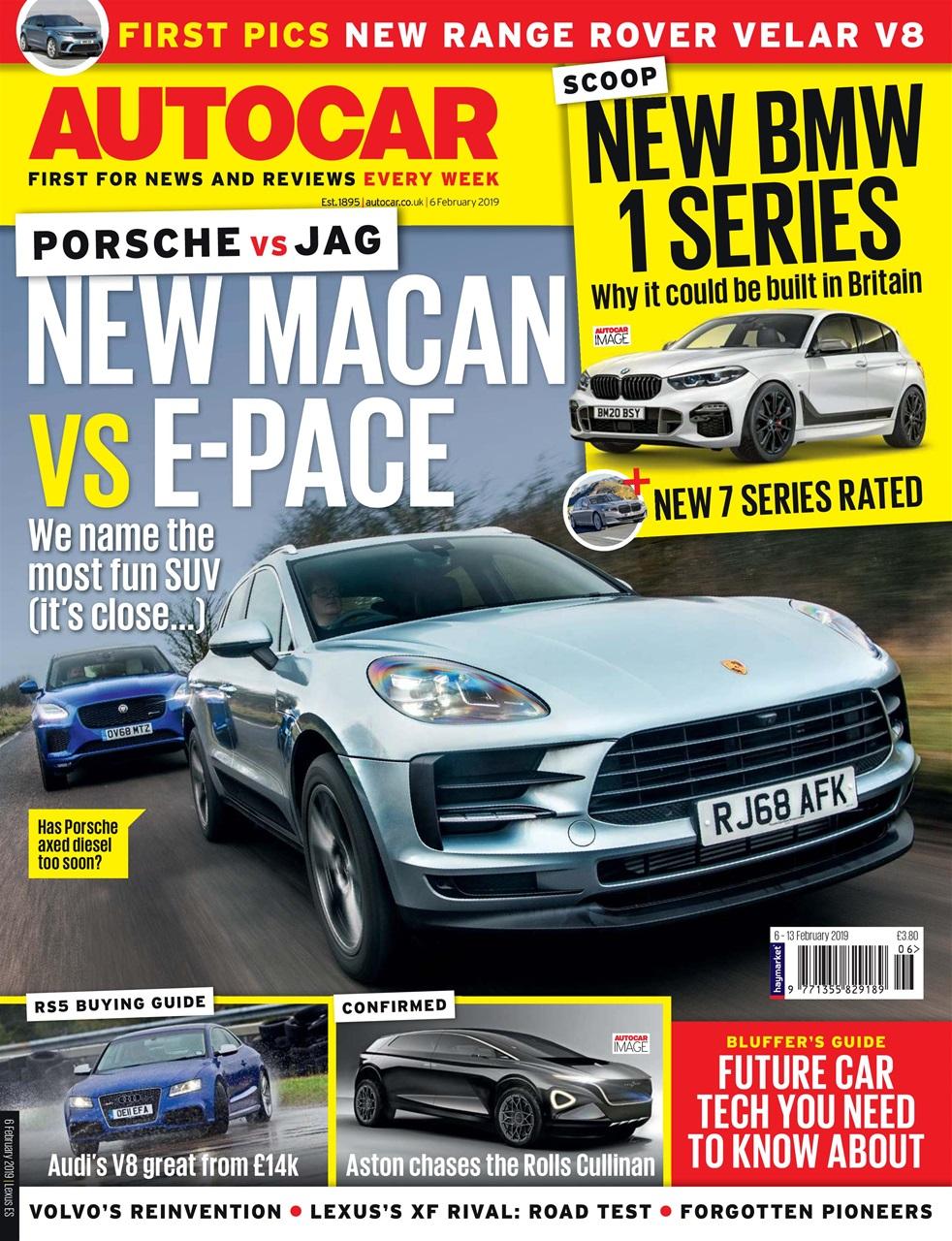 autocar magazine - 6th february 2019 subscriptions | pocketmags