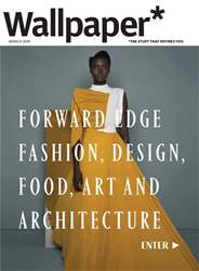 Wallpaper* Magazine Cover