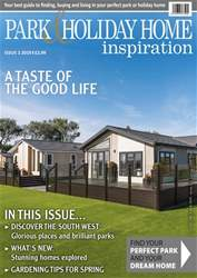 Park and Holiday Home Inspiration magazine Magazine Cover