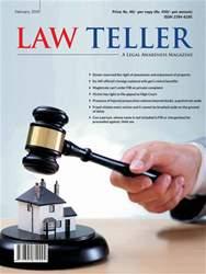 Lawteller – A Legal Awareness Magazine Magazine Cover