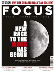 BBC Science Focus Magazine Magazine Cover
