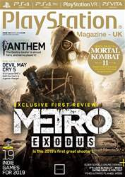 Playstation Official Magazine (UK Edition) Magazine Cover