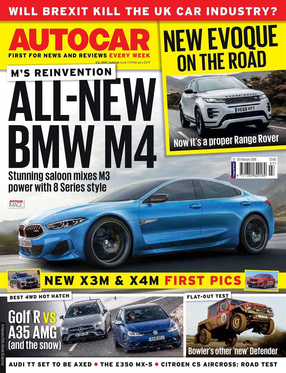 autocar magazine - 13th february 2019 subscriptions | pocketmags