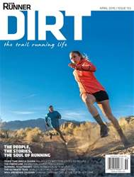 Trail Runner Magazine Cover