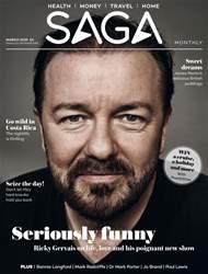 Saga Magazine Magazine Cover