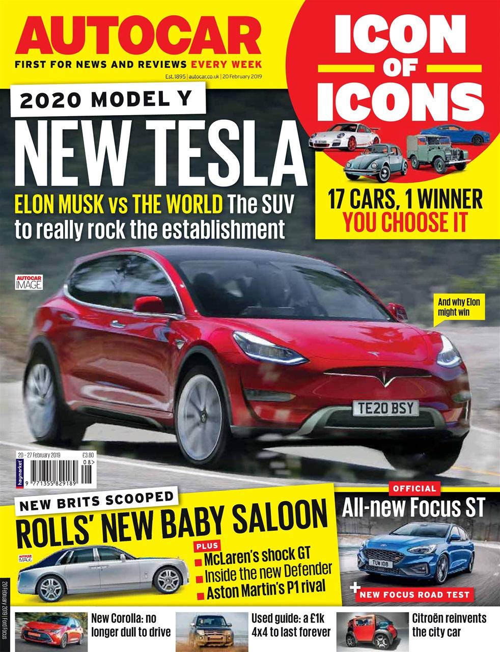 autocar magazine - 20th february 2019 subscriptions | pocketmags