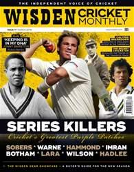 Wisden Cricket Monthly Magazine Cover