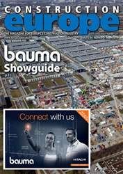 Construction Europe Magazine Cover