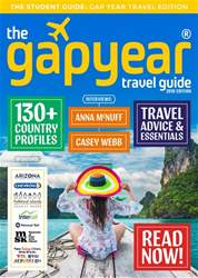 The Gap Year Travel Guide Magazine Cover
