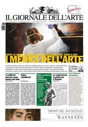 Il Giornale Dell'Arte Magazine Cover