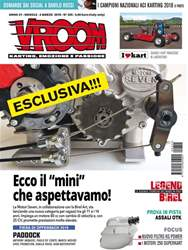 Vroom Italia Magazine Cover