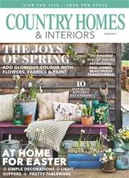 Country Homes & Interiors Magazine Cover