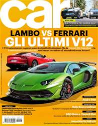 CAR magazine Italia Magazine Cover
