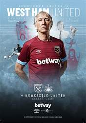 West Ham Utd Official Programmes Magazine Cover