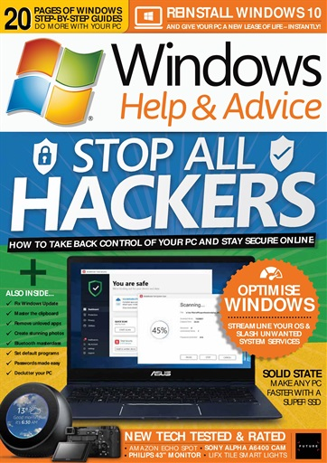 Windows Help & Advice Preview