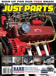 JUST PARTS Magazine Cover