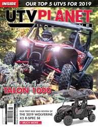 UTV Planet Magazine Magazine Cover