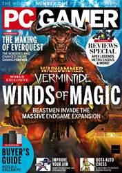 PC Gamer (UK Edition) Magazine Cover
