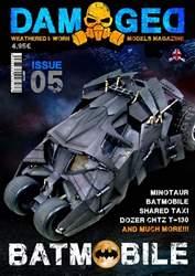 Damaged Magazine Magazine Cover