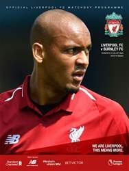 Liverpool FC Programmes Magazine Cover