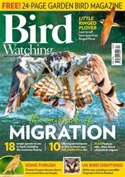 Bird Watching Magazine Cover