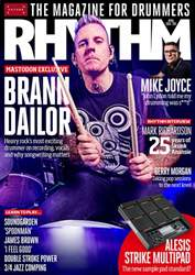 Rhythm Magazine Cover