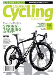 Canadian Cycling Magazine Magazine Cover