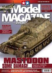 Tamiya Model Magazine Magazine Cover
