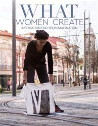 What Women Create Magazine Cover