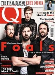 Q Magazine Cover
